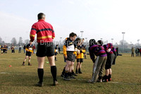 Basingstoke RFC. under 16s match + helpers and groundstaff. 5-2-2006
