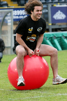 Lawrence Dallaglio's Generation Game. Supporters 'It's A Knockout'. 25-5-2008. Season 2004-2005