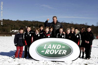 Justin Marshall at Ilkley RFC. Powergen sponsored visit. 5-3-06. Pics with Justin