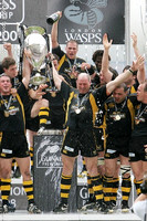 London Wasps v Leicester Tigers. Guinness Premiership Final. 31-5-08